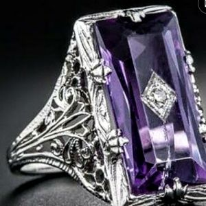 Exquisite Natural Purple Amethyst